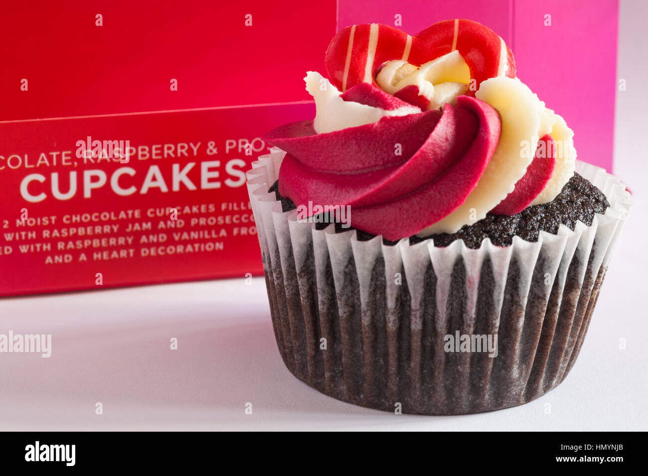 M S Schokolade Himbeere Prosecco Cupcakes Ideal Fur Valentinstag