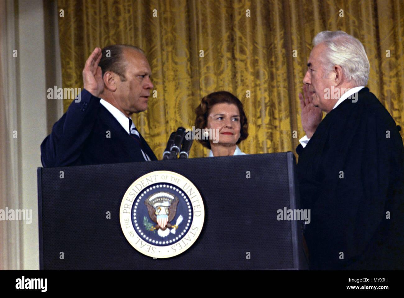 Resignation Richard Nixon Stockfotos & Resignation Richard Nixon ...