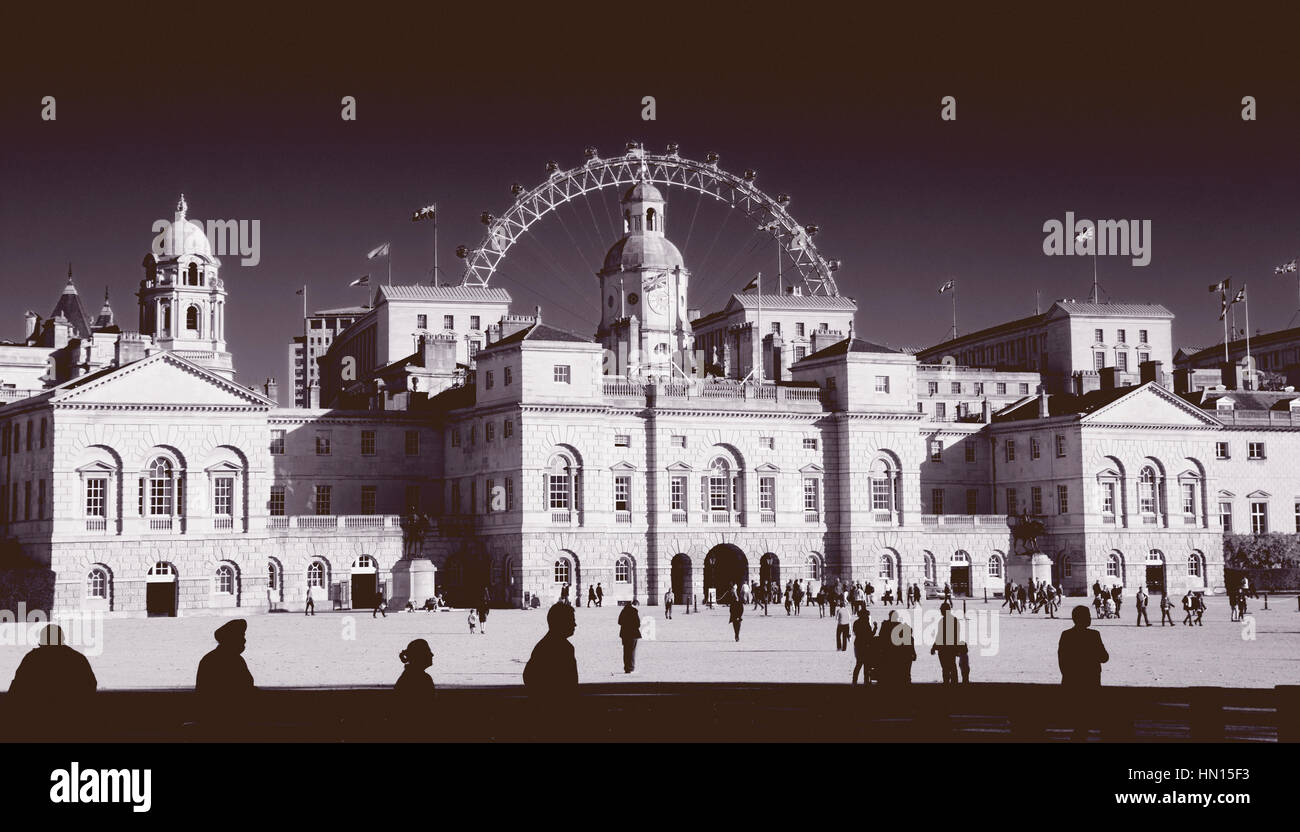 Horse Guards Parade, London, England, UK Stockbild