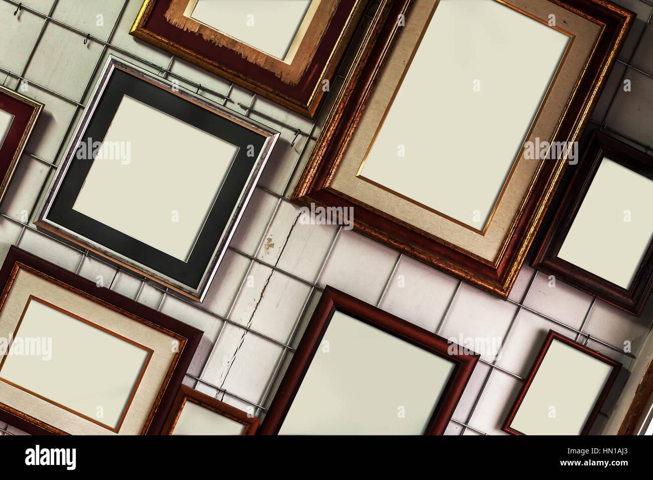 Empty Frames Stockfotos & Empty Frames Bilder - Alamy