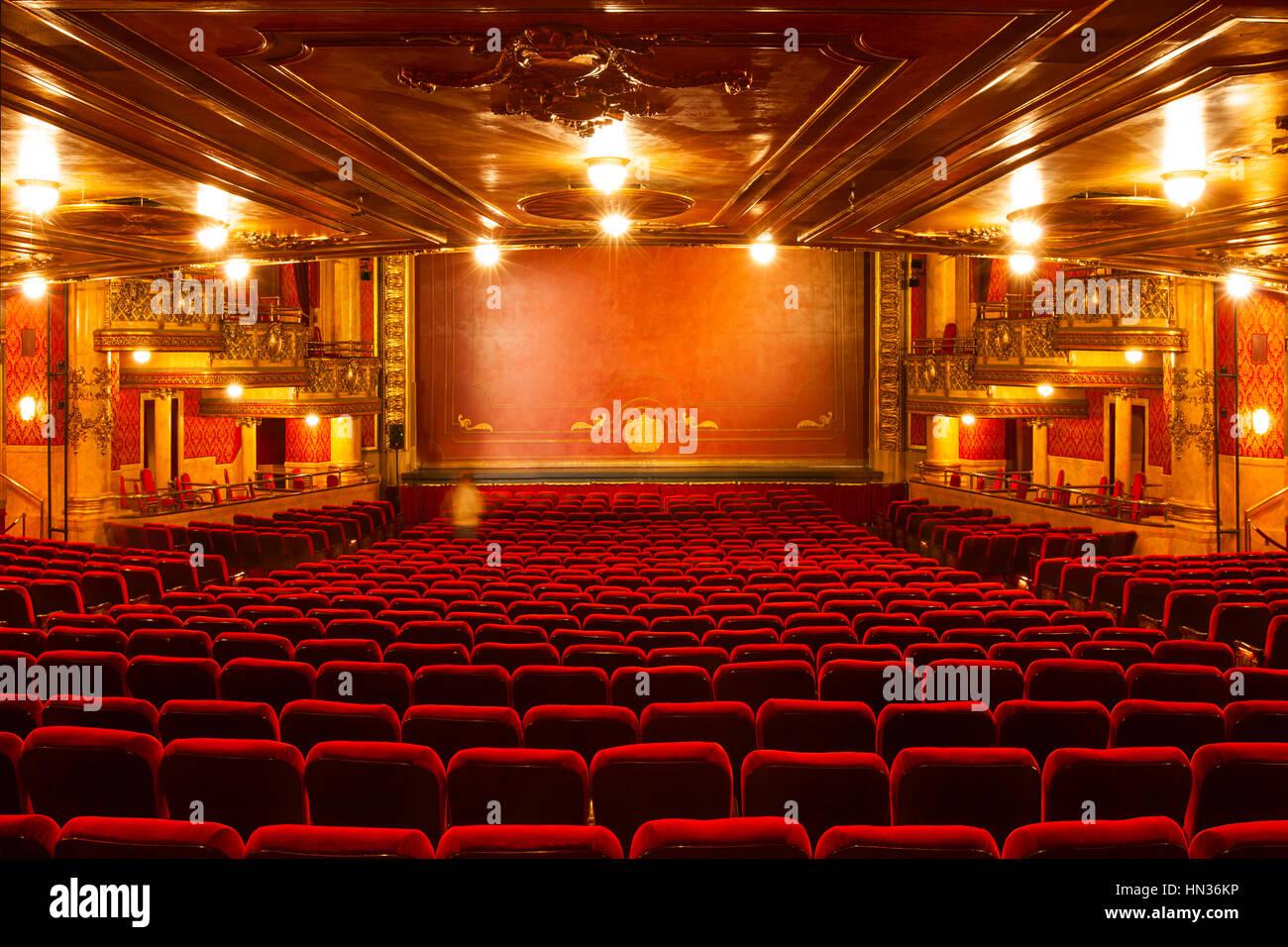 Die Reich Verzierten Elgin Theatre In The Elgin Und Winter Garden