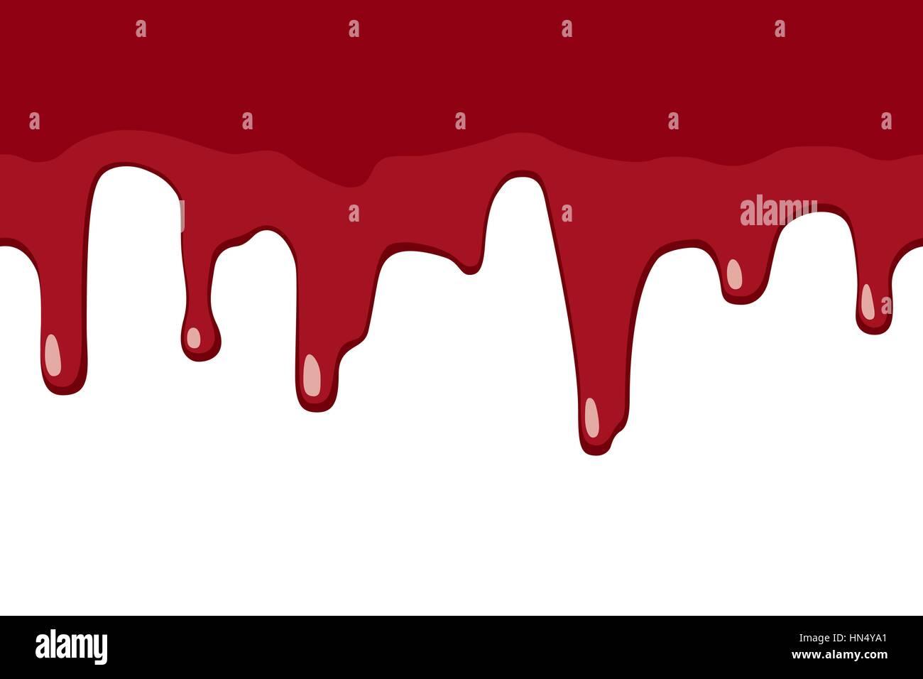 Blut tropft Stockbild