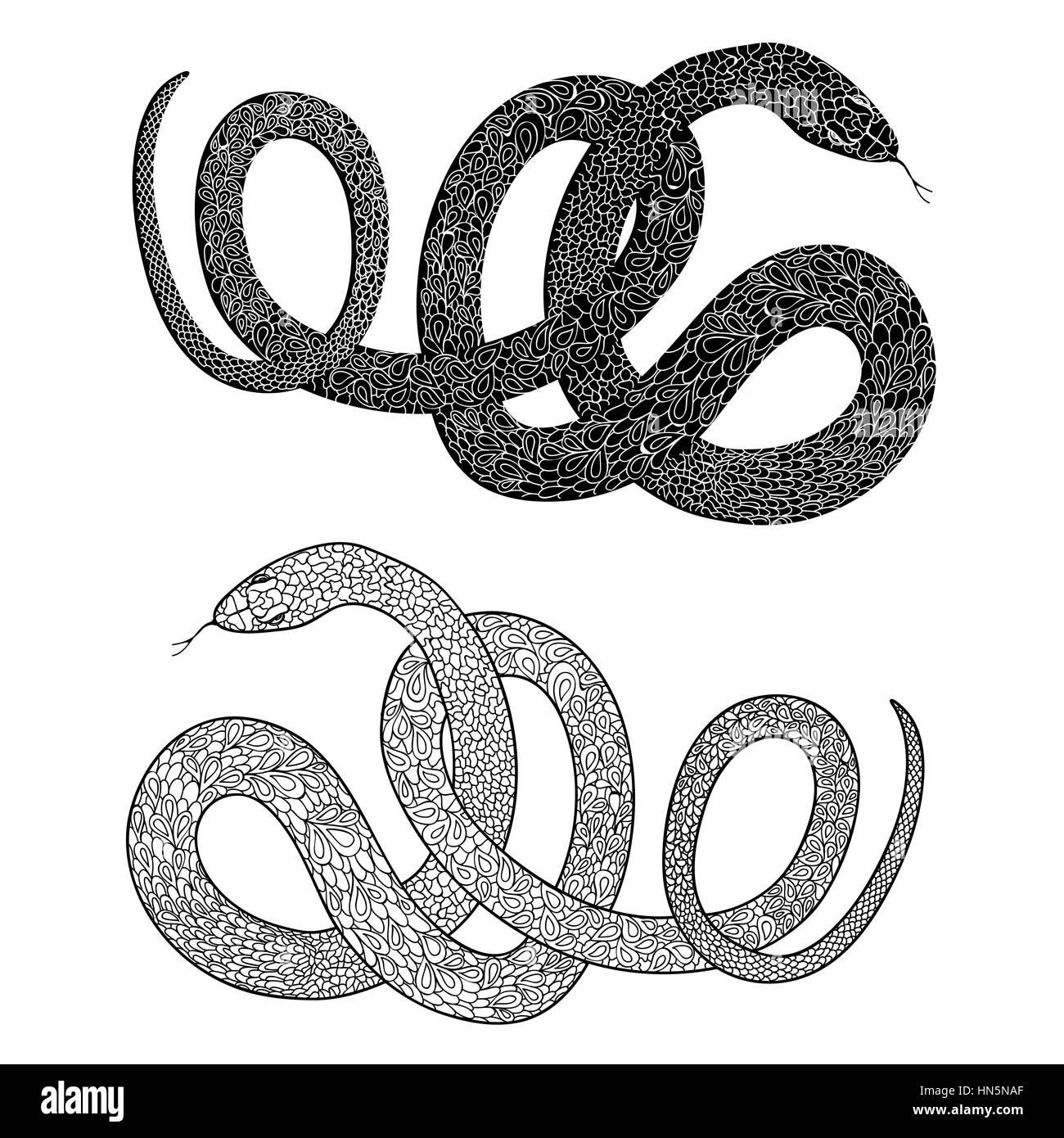 Cobra snake logo vector stockfotos cobra snake logo for Design von zierpflanzen
