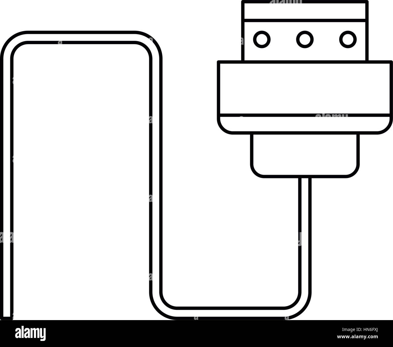 Thin Wire Isolated Stockfotos & Thin Wire Isolated Bilder - Alamy