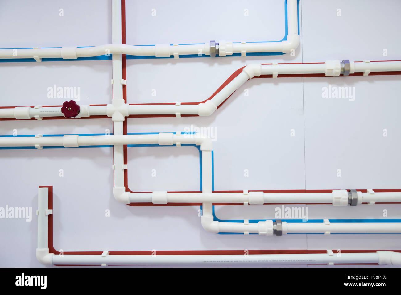 Ziemlich Warmwasser Rohrleitung Bilder - Die Besten Elektrischen ...