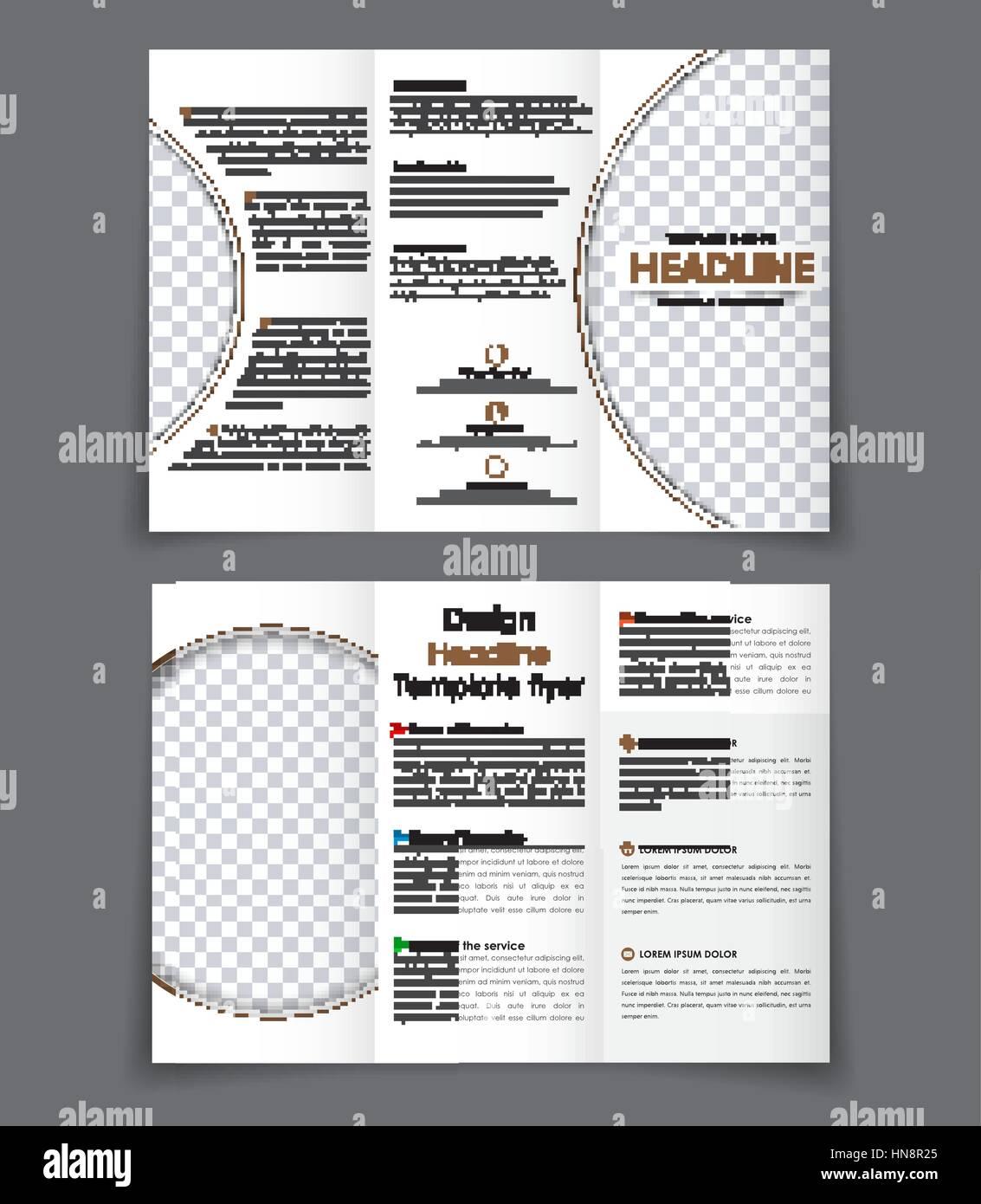Ungewöhnlich Broschürenvorlagen Dreifachfaltung Bilder - Entry Level ...