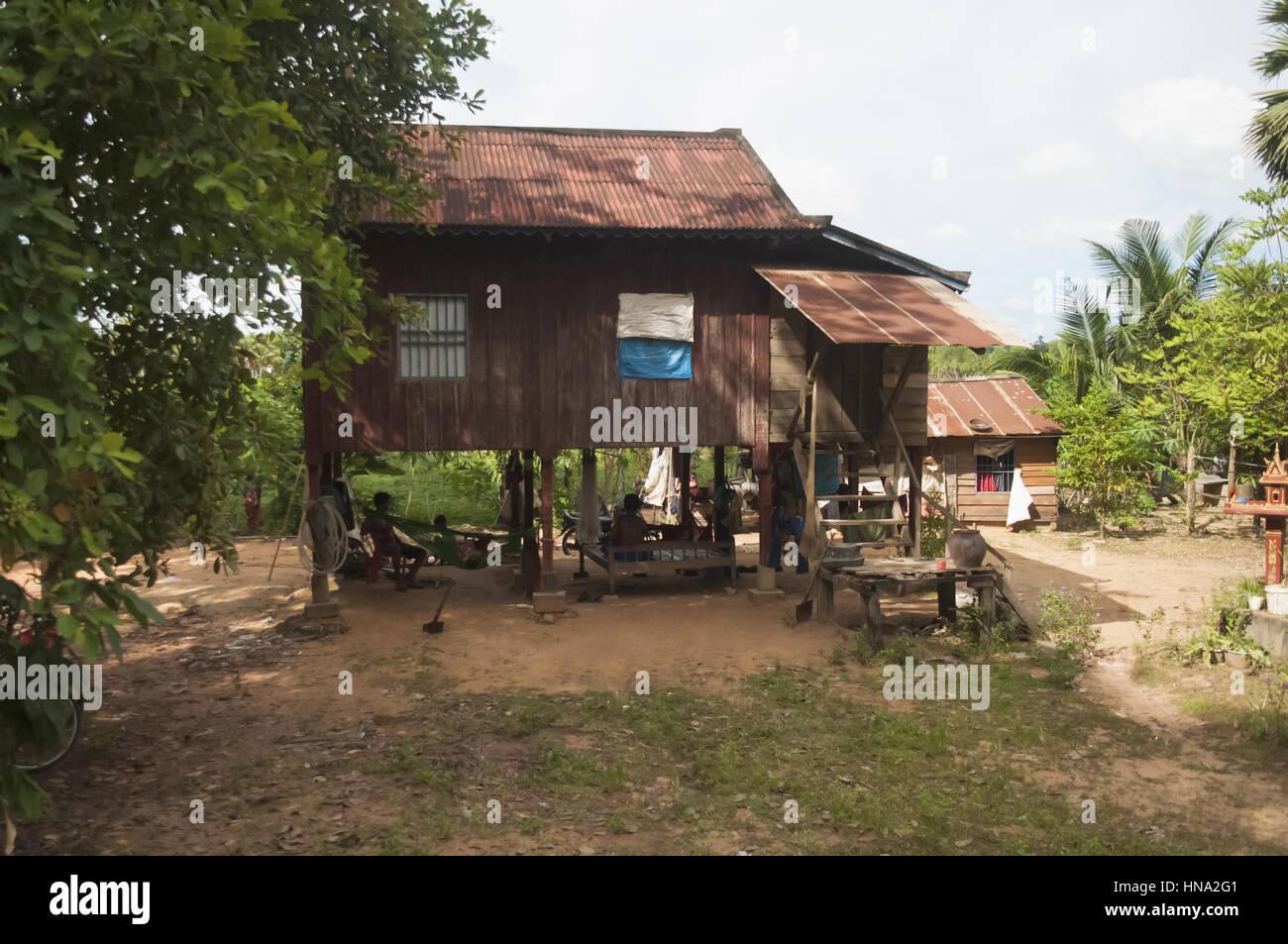 Malerisch Haus Auf Stelzen Galerie Von Traditionelles Stelzen, Siem Reap, Kambodscha