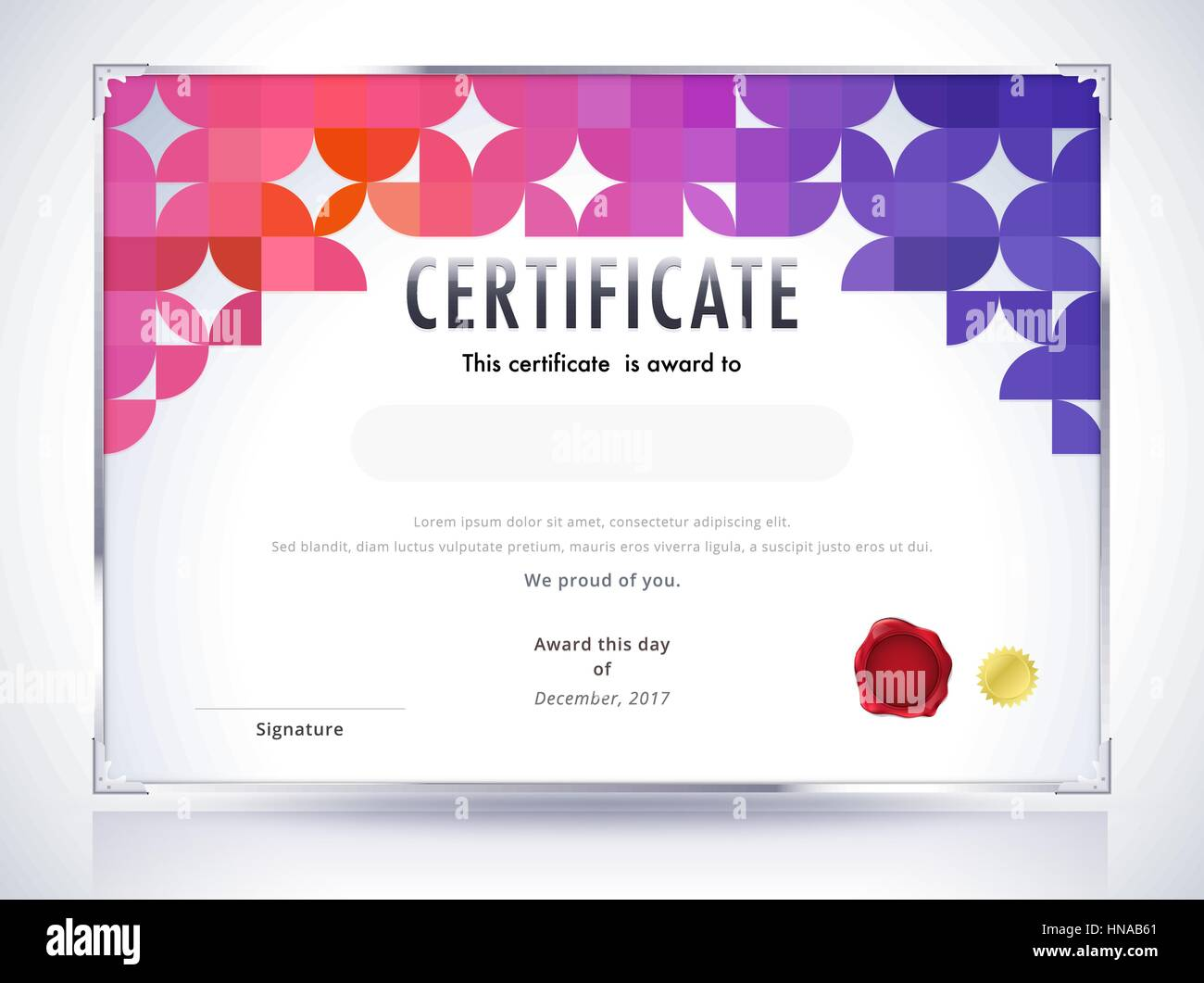 Zertifikat-Vorlage. Diplom-Vorlage. Zusammenfassung Hintergrund ...