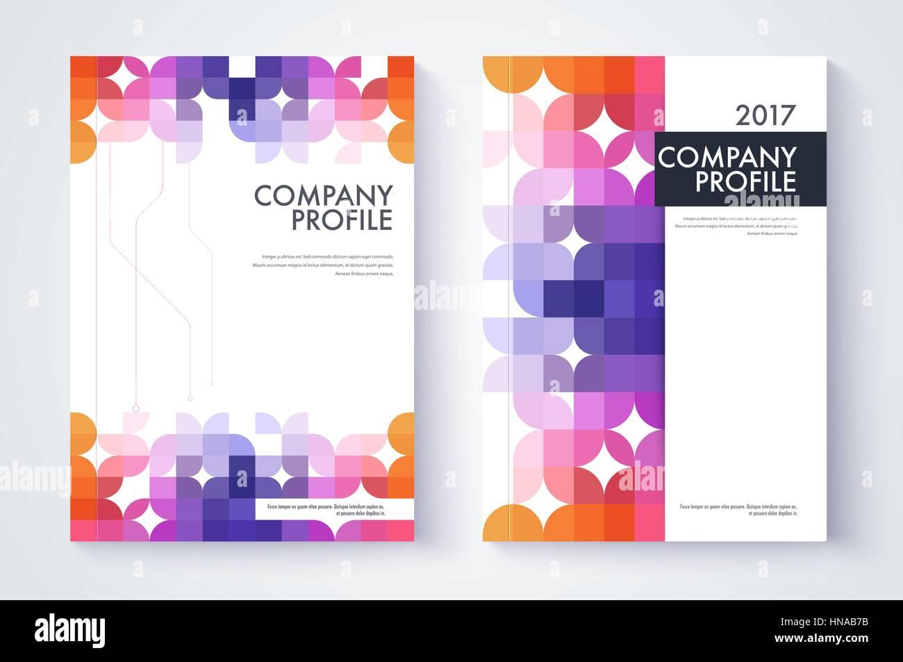 Großartig Professionelle Business Profil Vorlage Fotos - Bilder für ...