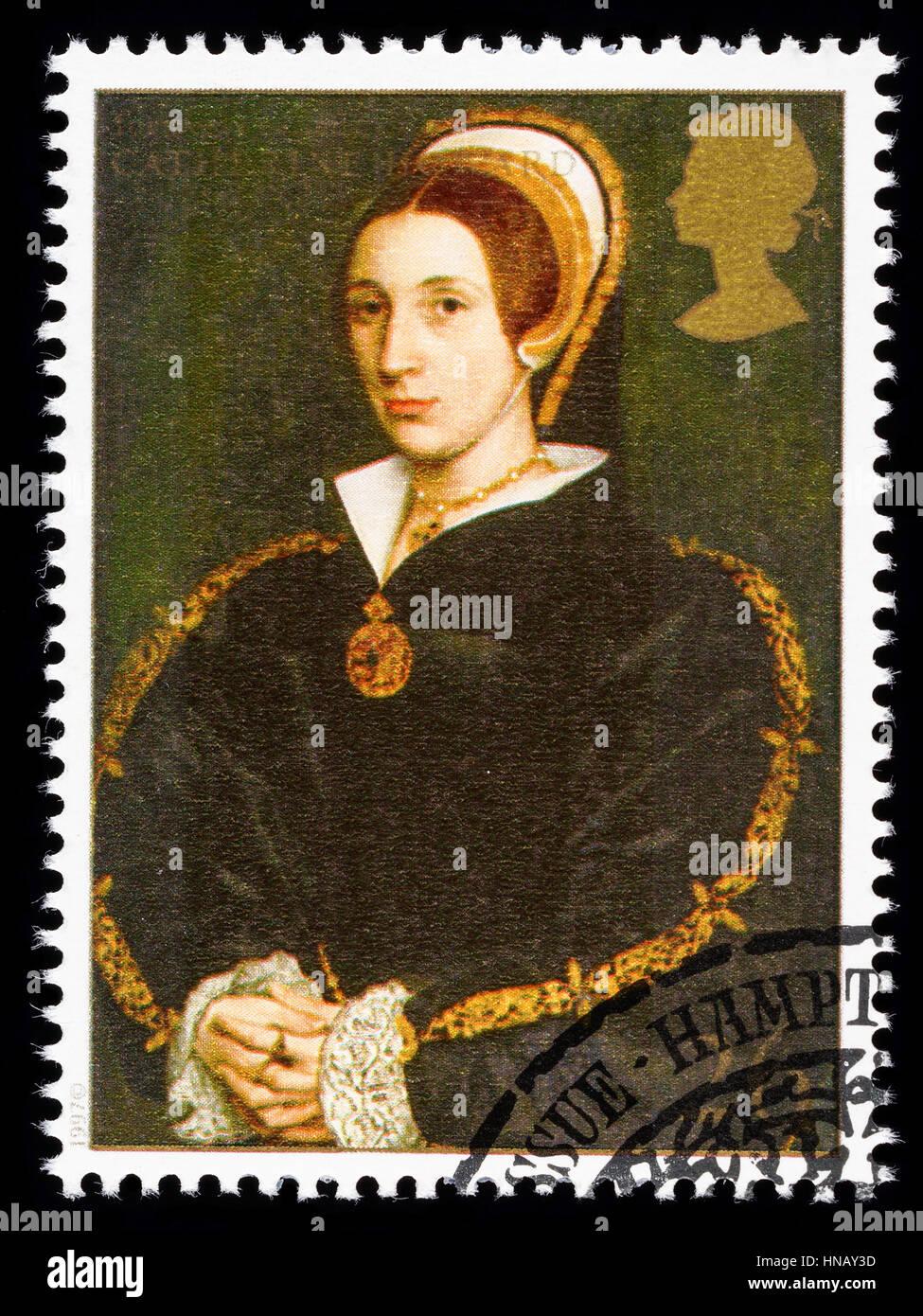 Vereinigtes Königreich - CIRCA 1997: verwendete Briefmarke gedruckt in Großbritannien zum Gedenken an Stockbild