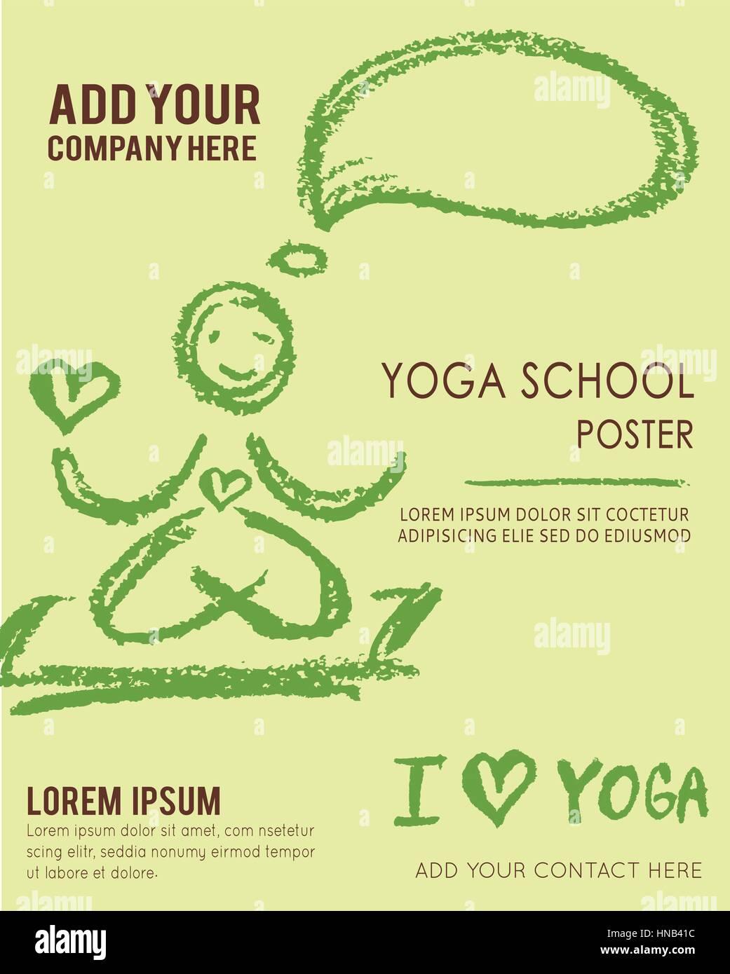 Berühmt Yoga Broschüre Vorlagen Bilder - Entry Level Resume Vorlagen ...