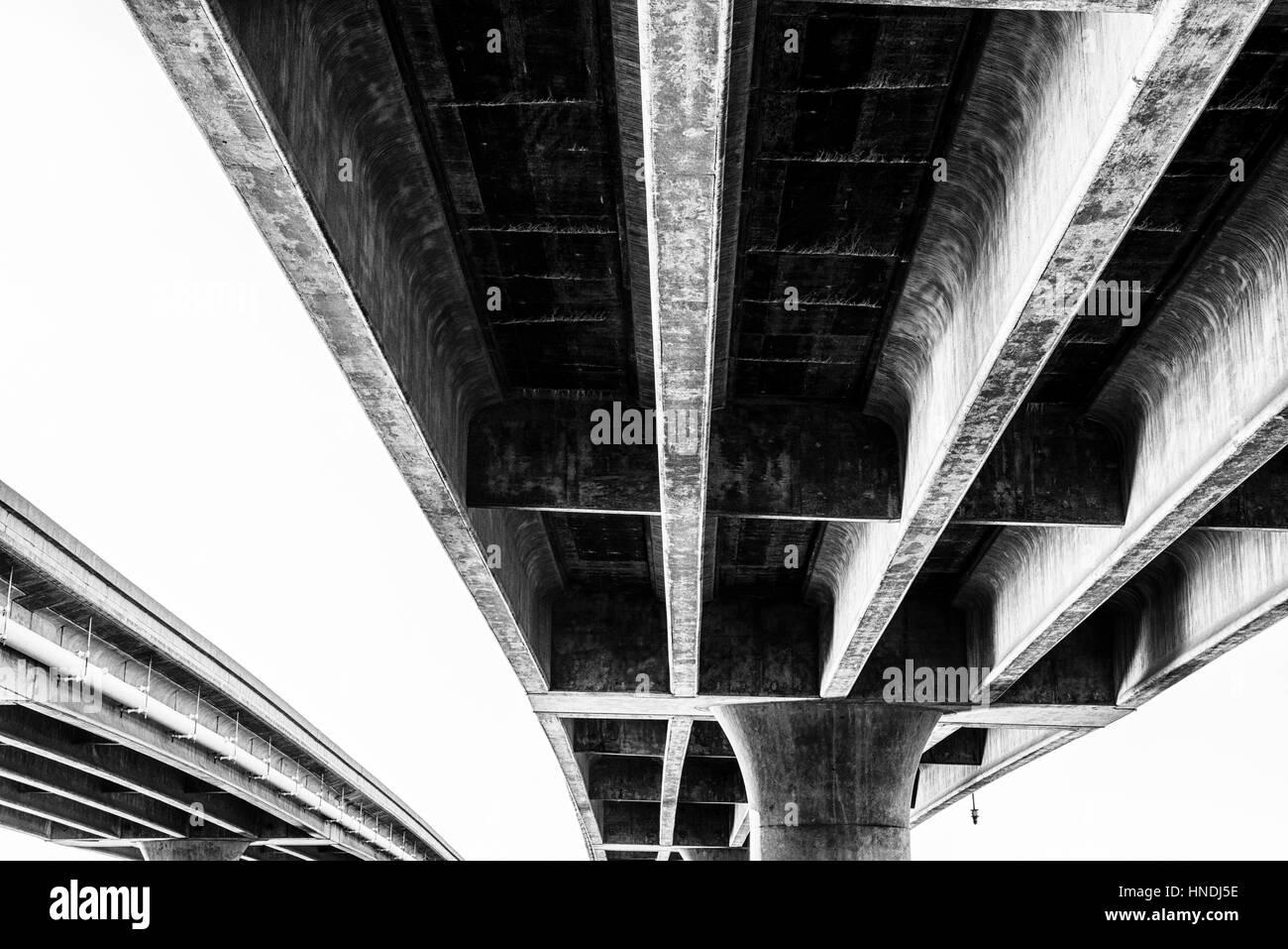 Ingraham Street Bridge, San Diego, Kalifornien, USA. Stockbild