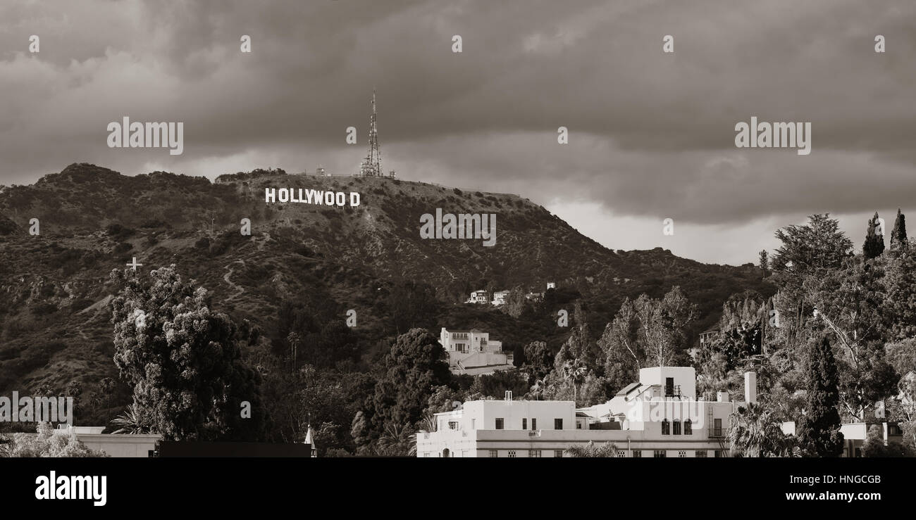 hollywood sign stockfotos hollywood sign bilder alamy. Black Bedroom Furniture Sets. Home Design Ideas