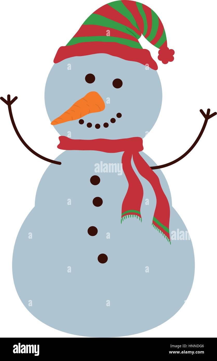Weihnachten niedlichen Cartoon Ikone Vektor Illustration Grafik ...