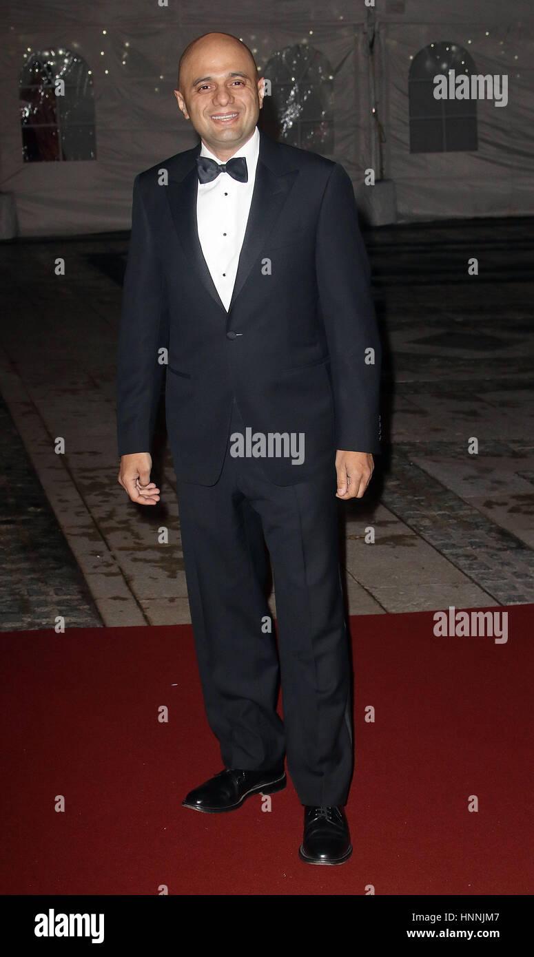 2. Februar 2017 - Sajid Javid Teilnahme an der britischen asiatischen Trust Empfang und Dinner, Guildhall - Red Stockbild