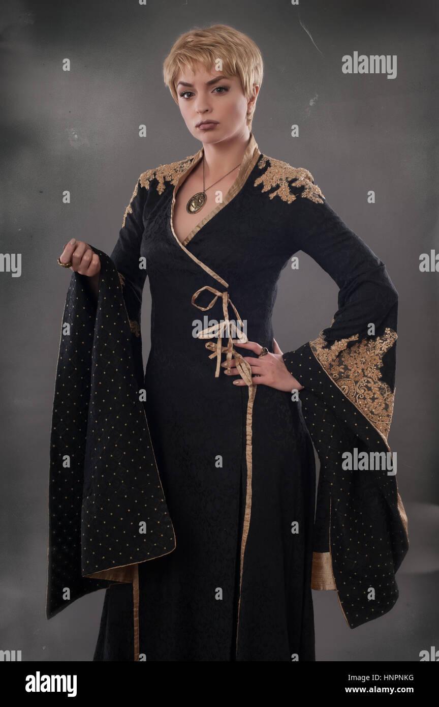 Renaissance Fashion Stockfotos & Renaissance Fashion Bilder - Alamy