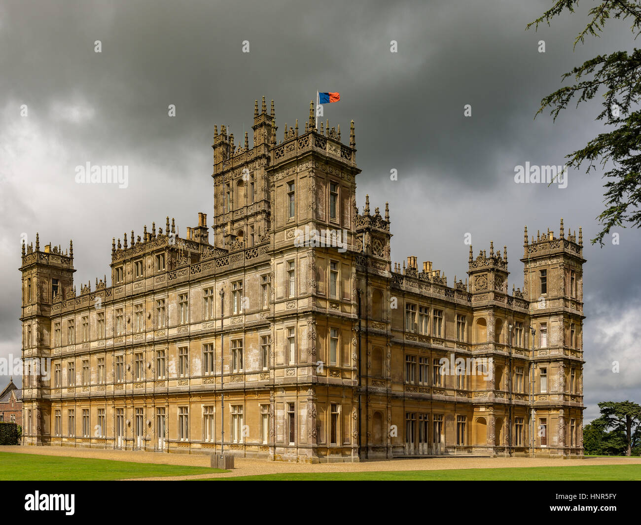highclere castle england stockfotos highclere castle england bilder alamy. Black Bedroom Furniture Sets. Home Design Ideas