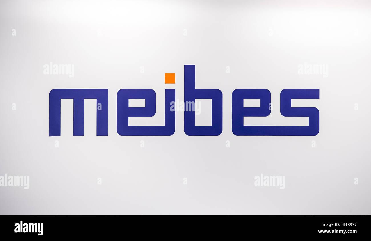 Meibes Sanitärtechnik Logo Aufkleber Buchstaben Auf Der