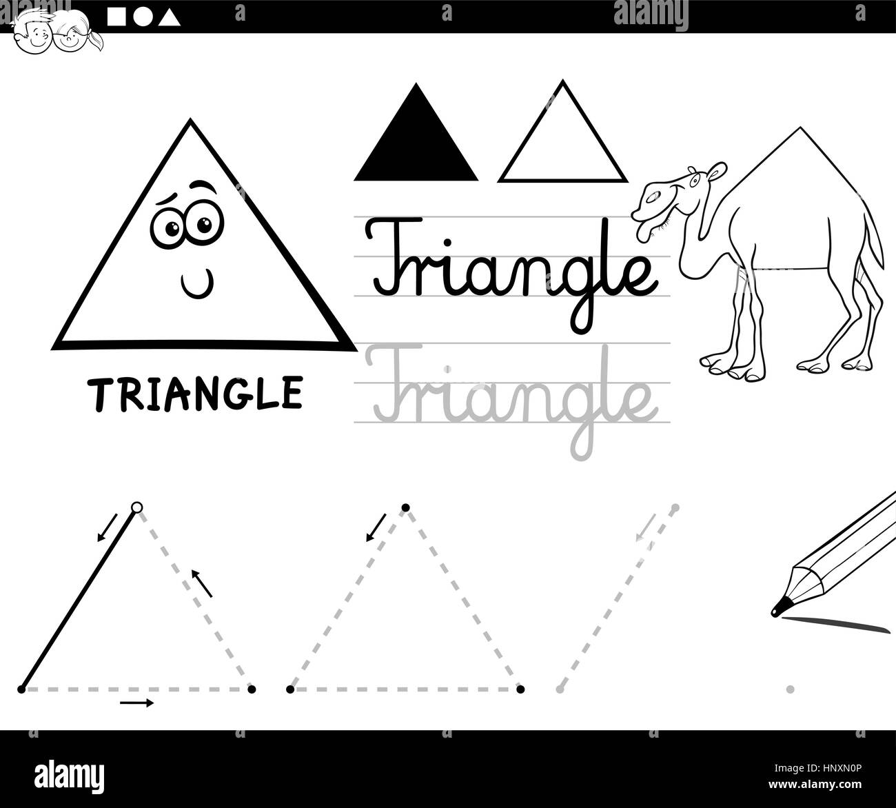 Atemberaubend Malvorlagen Für Kinder Im Geometrischen Design Bilder ...