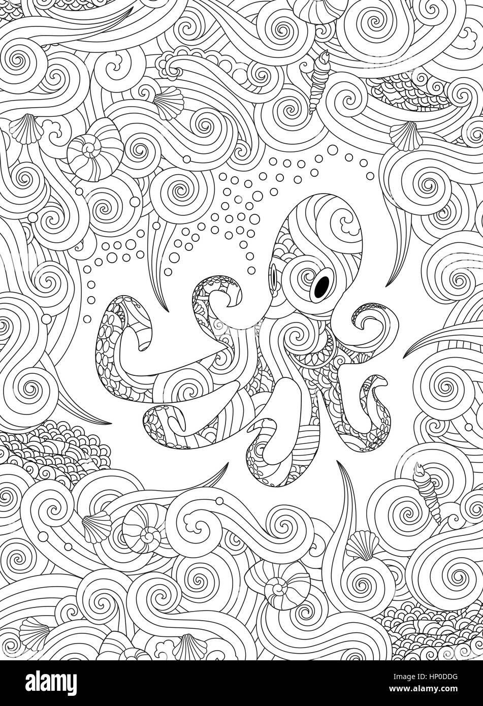 Ungewöhnlich Baby Oktopus Malvorlagen Ideen - Beispiel Anschreiben ...