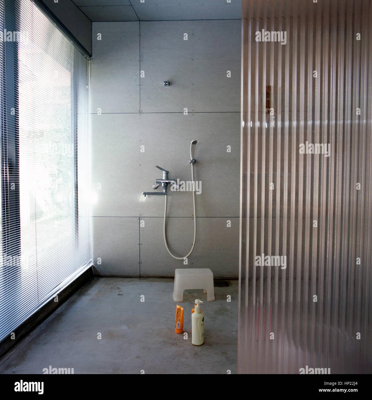 Japanisches Badezimmer Stockfotos & Japanisches Badezimmer Bilder ...
