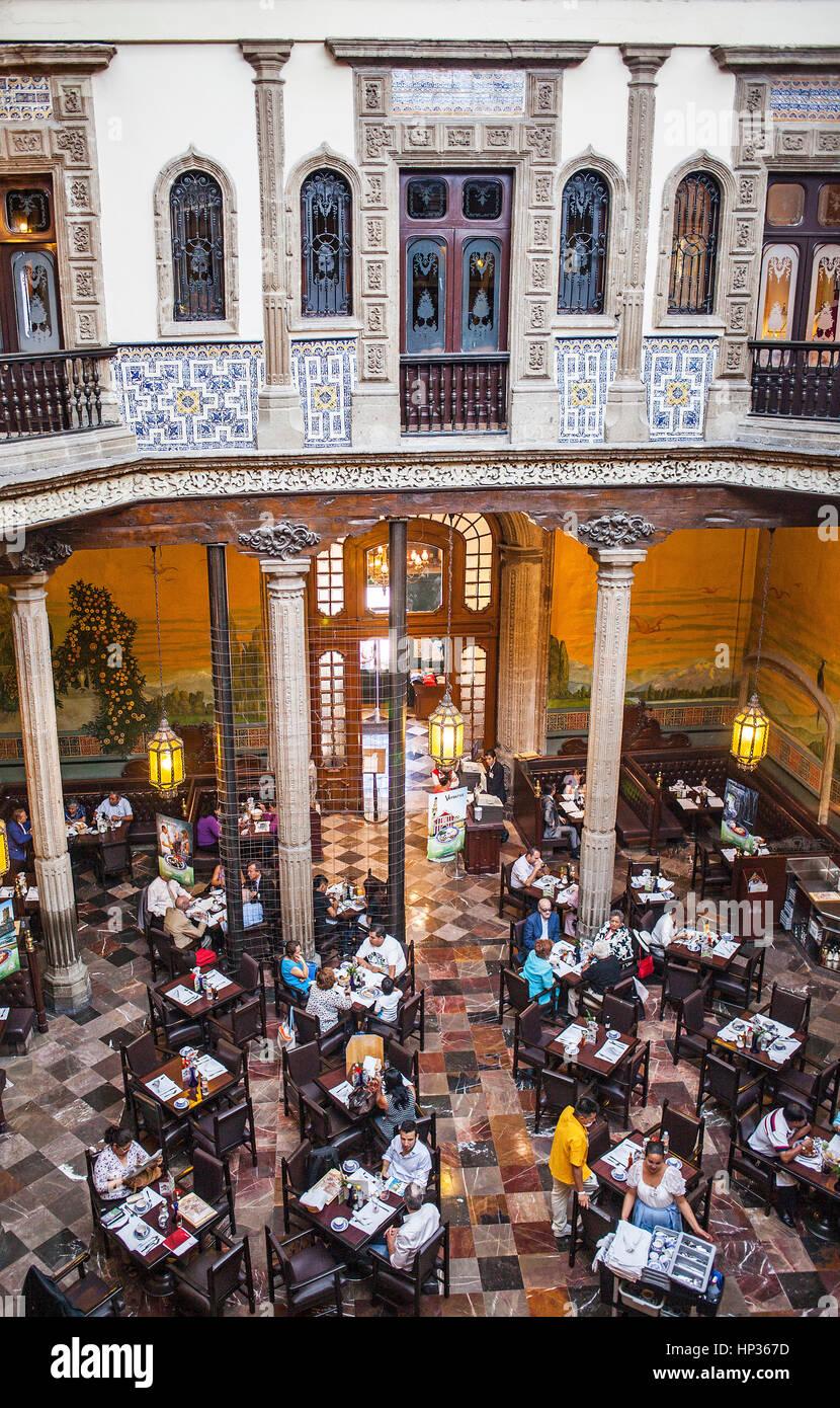 Casa De Los Azulejos, Haus Der Fliesen, Restaurant, Mexico City, Mexiko