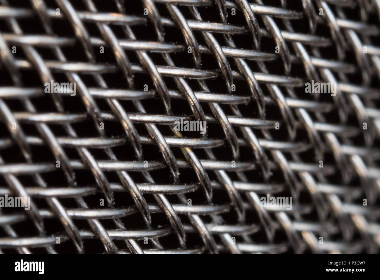 Fine Wire Mesh Stockfotos & Fine Wire Mesh Bilder - Alamy