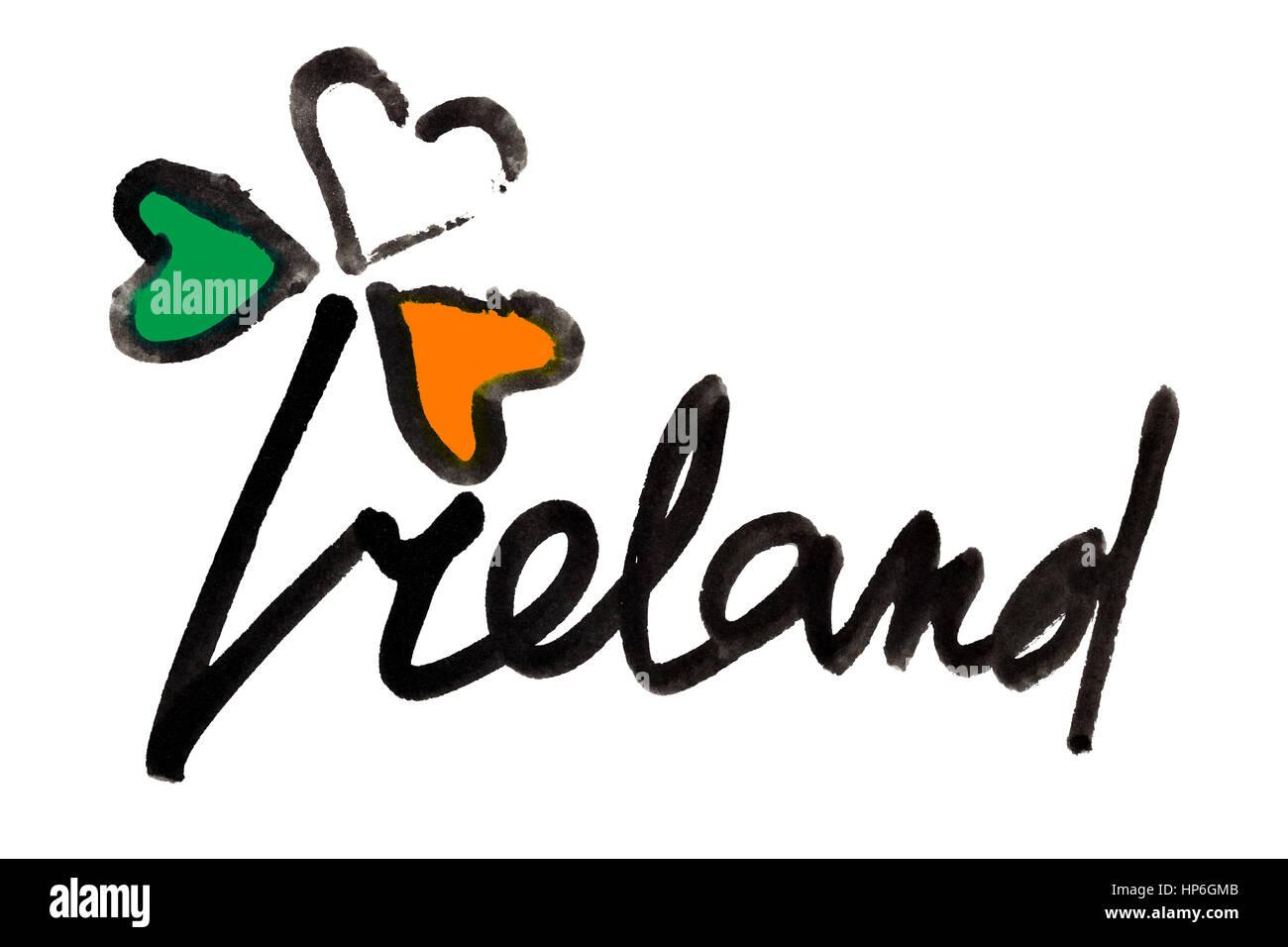 Nett Irische Flagge Färbung Seite Zeitgenössisch - Beispiel ...