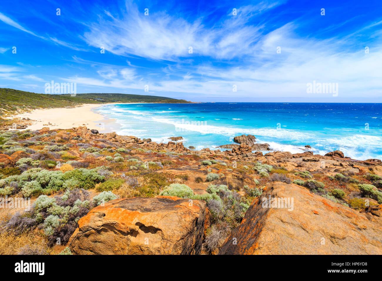 Smiths Strand, Surakarta, Australien Stockbild