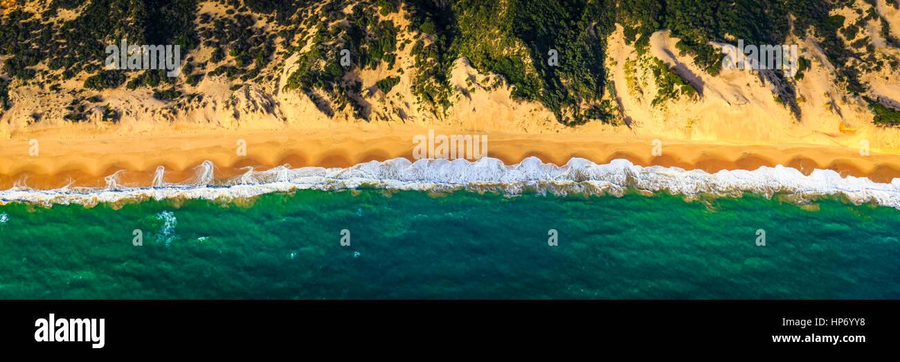 Süd-West Küste Stockbild