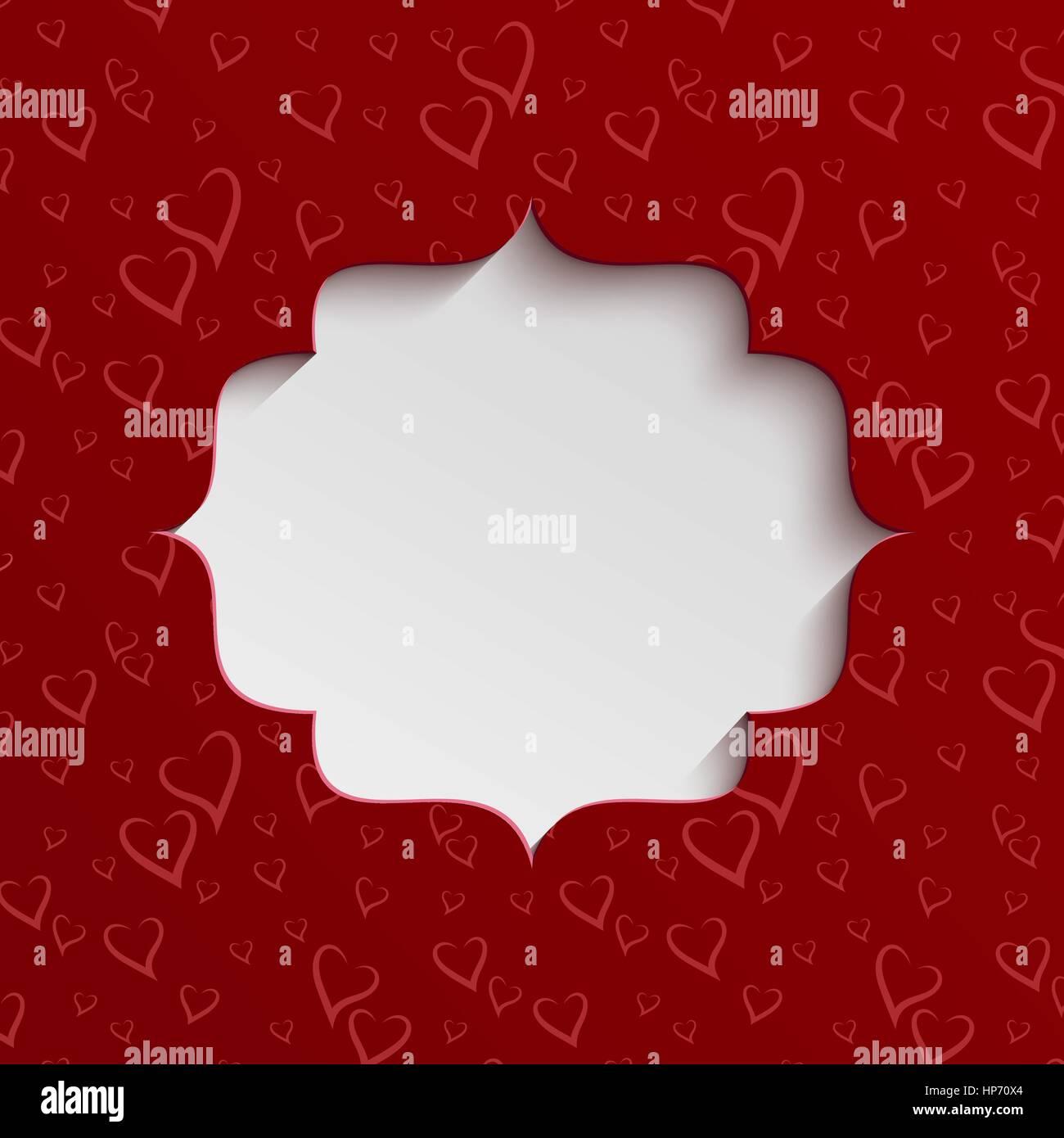 Happy Valentines Day Square Sticker Stockfotos & Happy Valentines ...