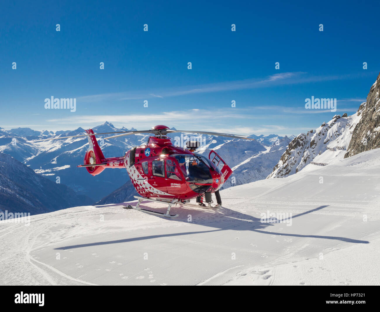 lauchernalp schweiz 13 februar 2017 a eurocopter. Black Bedroom Furniture Sets. Home Design Ideas
