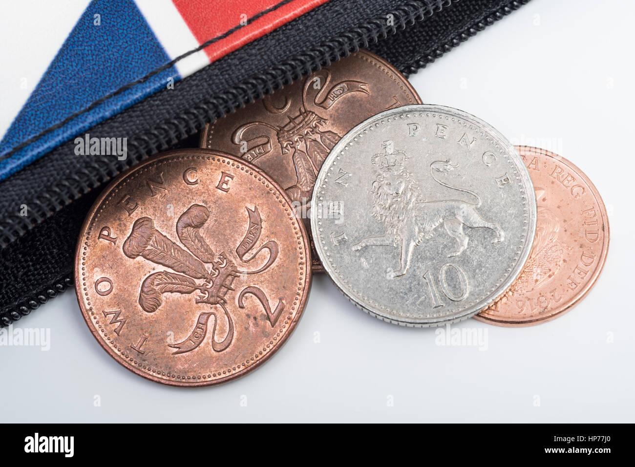 Mit Reißverschluss Gösch Portemonnaiegeldbörse Mit Britischen