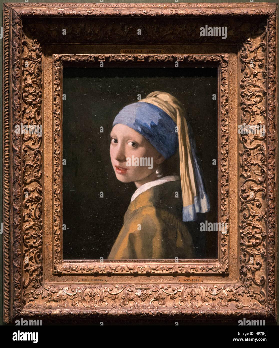Johannes Vermeer Das Mädchen Mit Dem Perlenohrring Meisje Met De