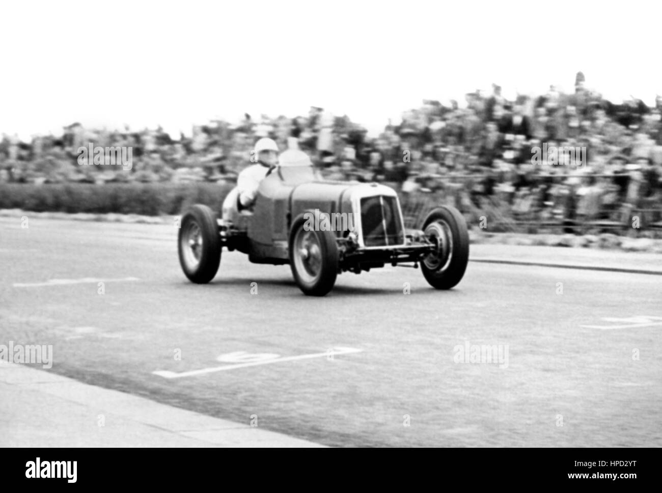 1948-ERA Jersey-Straßenrennen Stockbild