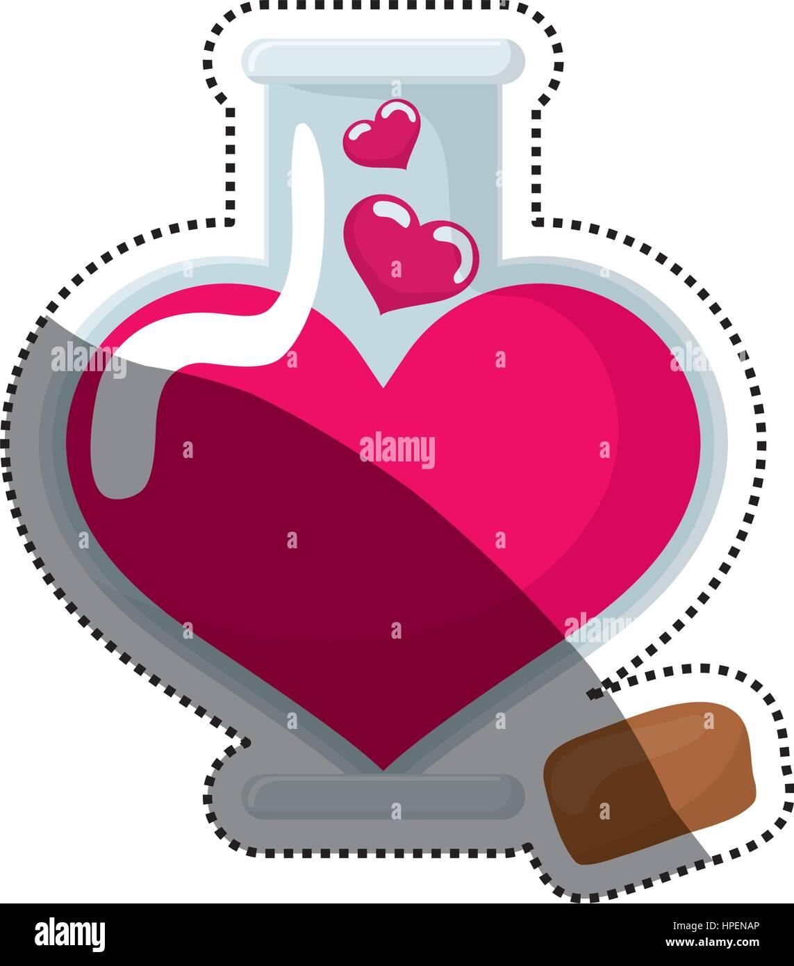 Liebe und Romantik Stockbild