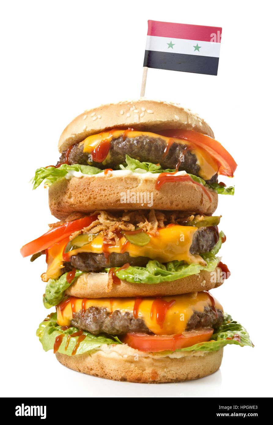 hamburger flag stockfotos hamburger flag bilder alamy. Black Bedroom Furniture Sets. Home Design Ideas