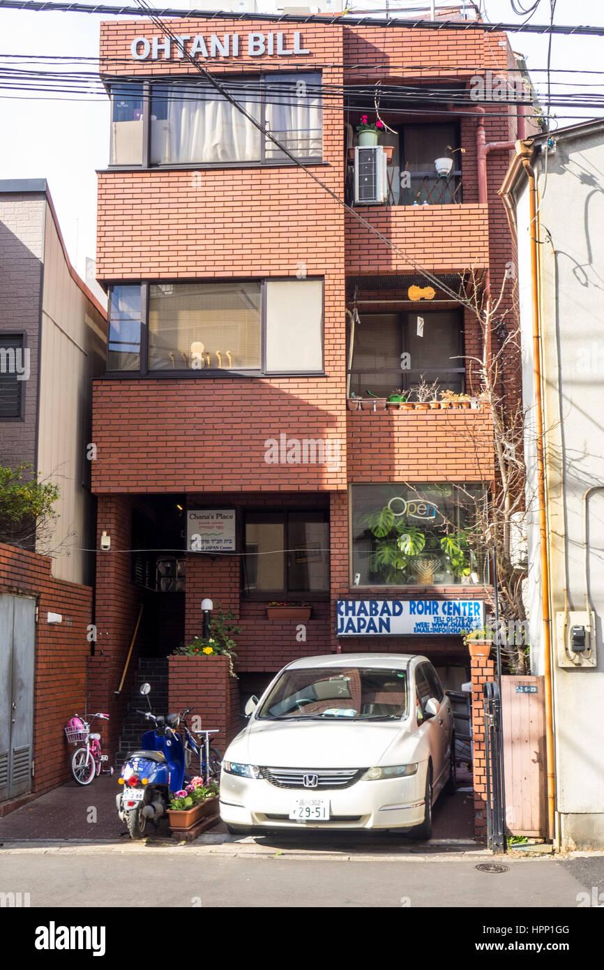 Chabad Lubawitsch von Japan, Tokyo. Stockfoto