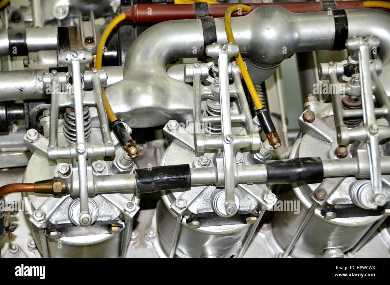 Hohe Leistung auto motor Teile Stockfoto, Bild: 134553942 - Alamy