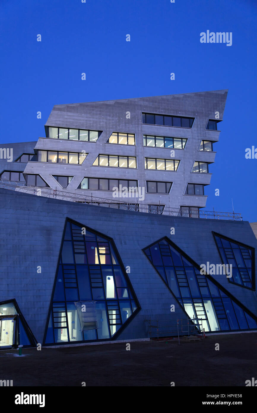 Architekt Lüneburg neue zentrale gebäude vom architekten daniel libeskind leuphana