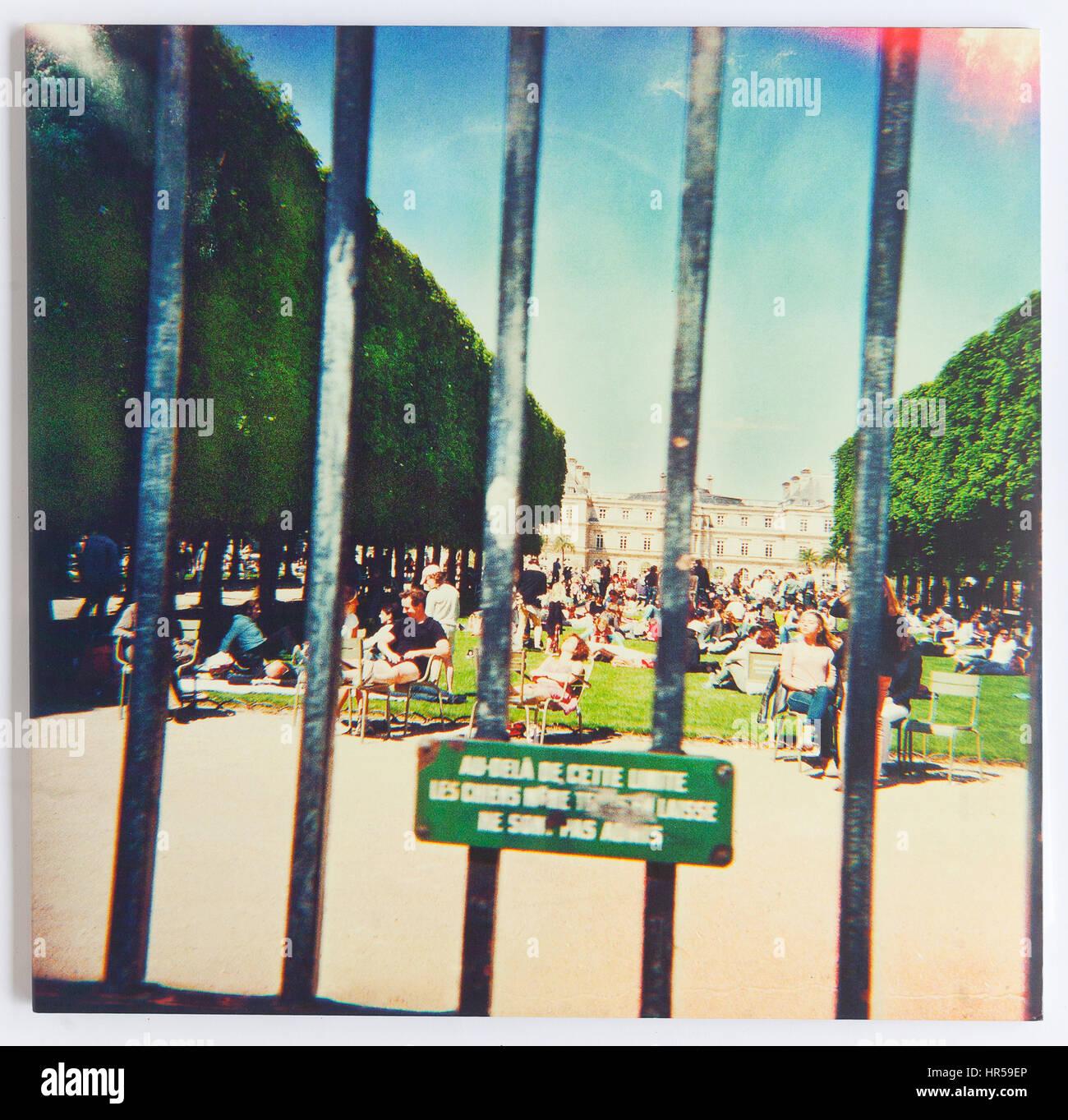 Die Abdeckung des Lonerism, 2012 Album von Tame Impala auf modularen Stockbild