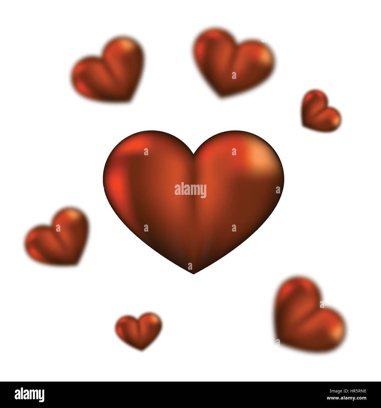 Fantastisch Glückliche Valentinstagherzen Malvorlagen Zeitgenössisch ...