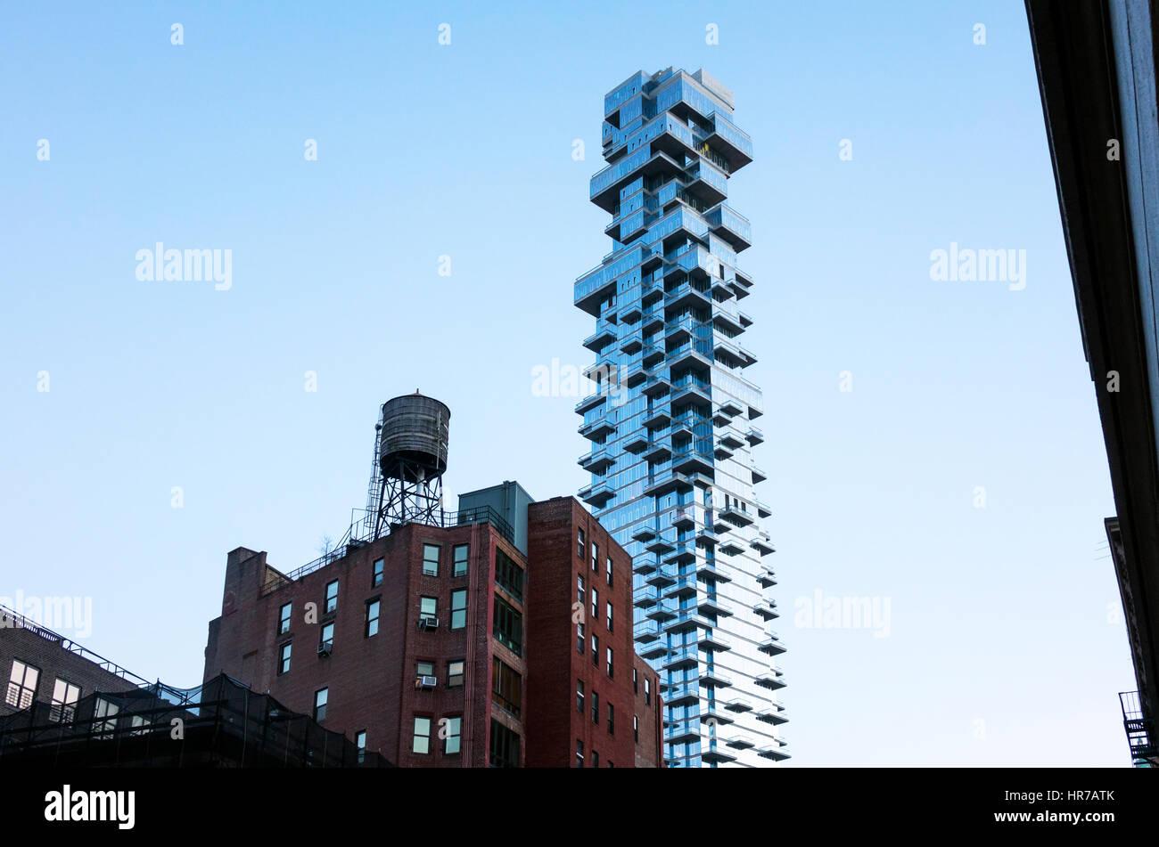Luxus-Eigentumswohnungen in Tribeca Stockbild