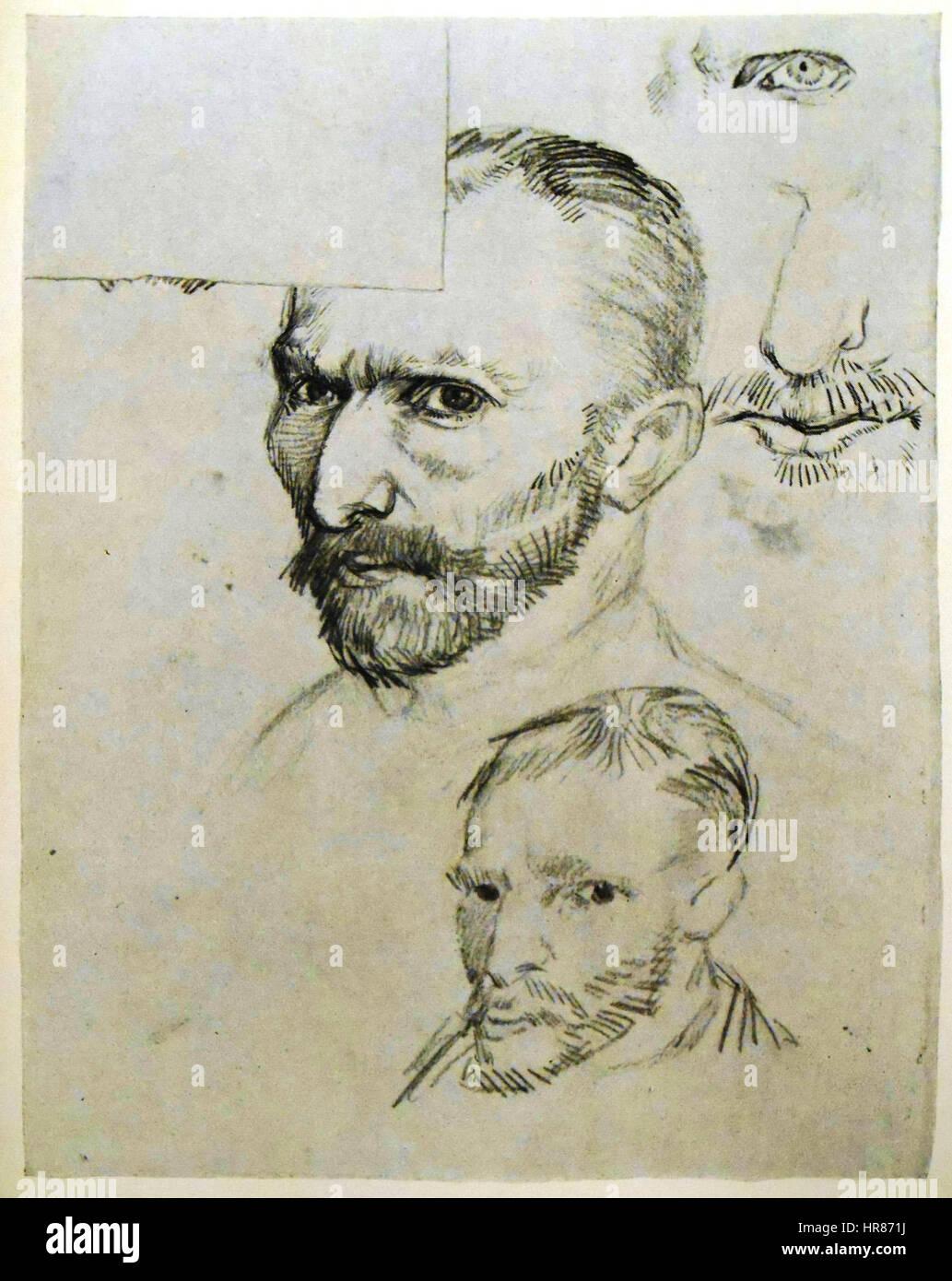 Vincent Van Gogh 30 Stockfoto