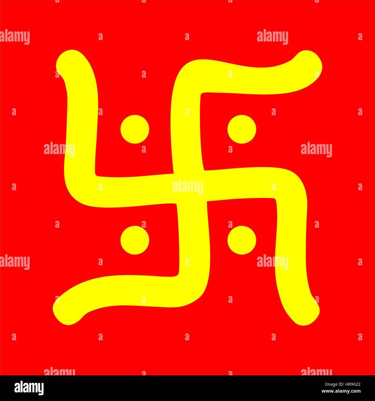 Hindu Hakenkreuz
