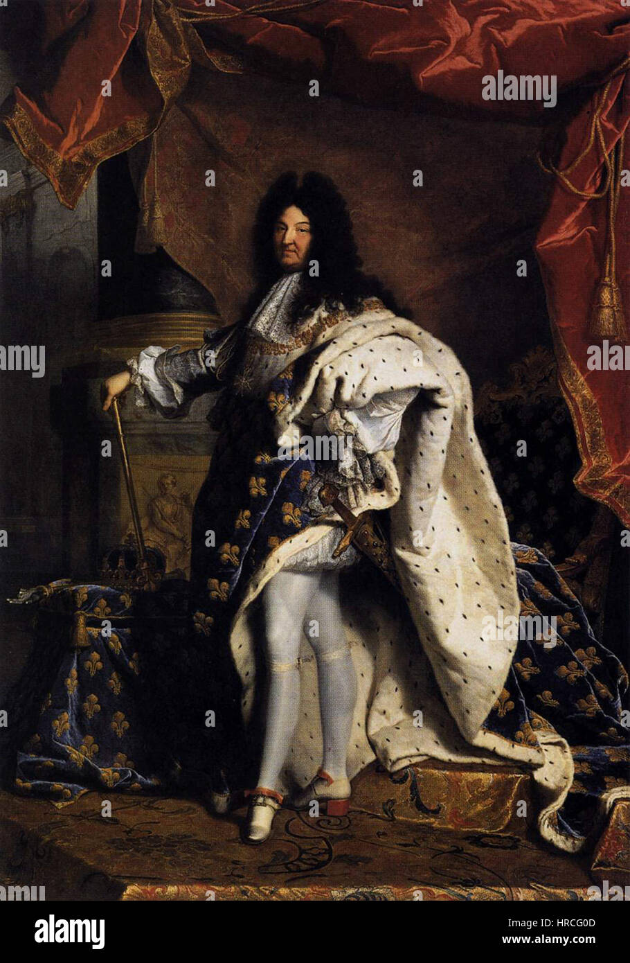 louis xiv rigaud stockfotos louis xiv rigaud bilder alamy. Black Bedroom Furniture Sets. Home Design Ideas