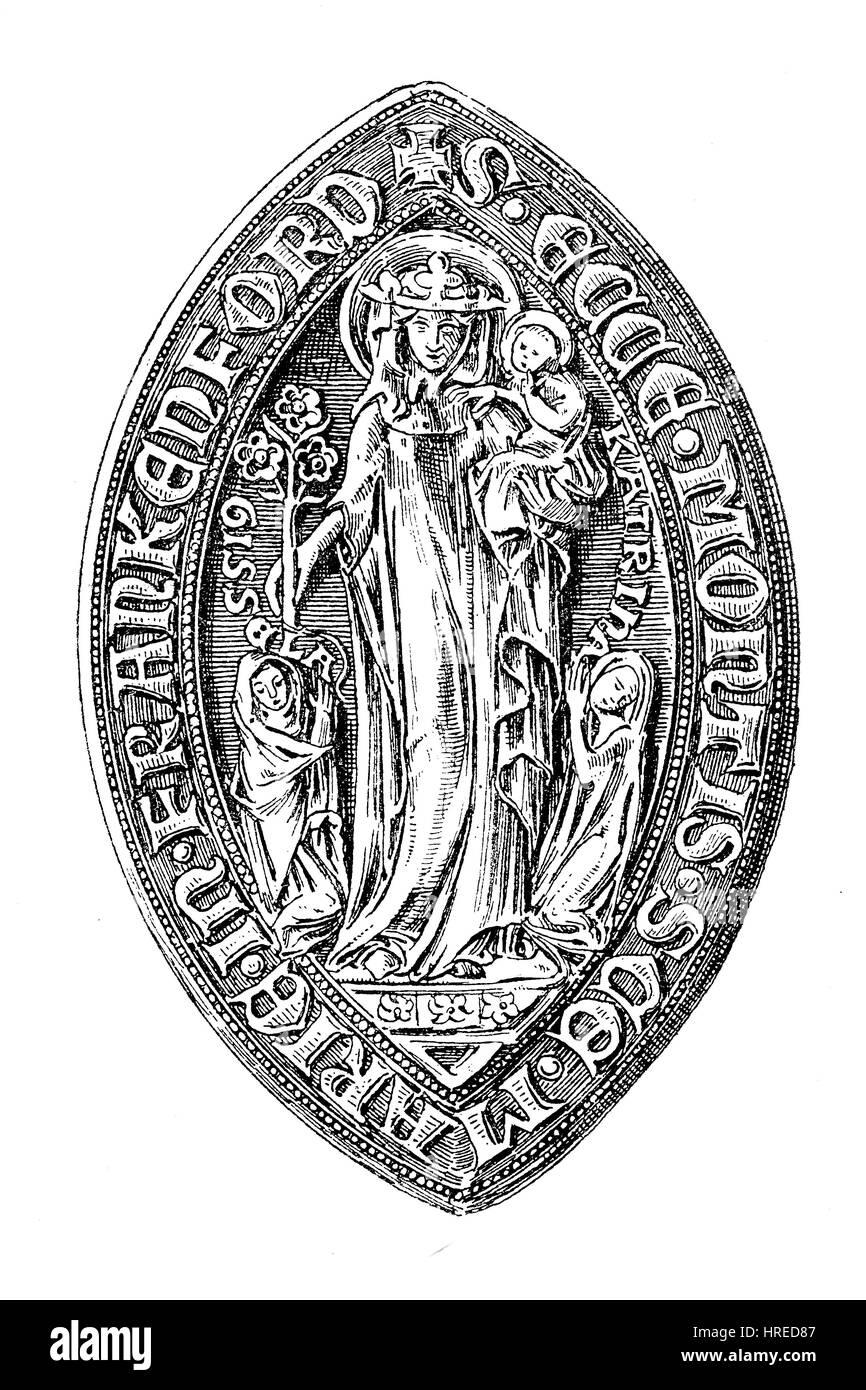 Spitz oval dichtung der stiftskirche liebfrauenkirche auf for Liebfrauenberg frankfurt