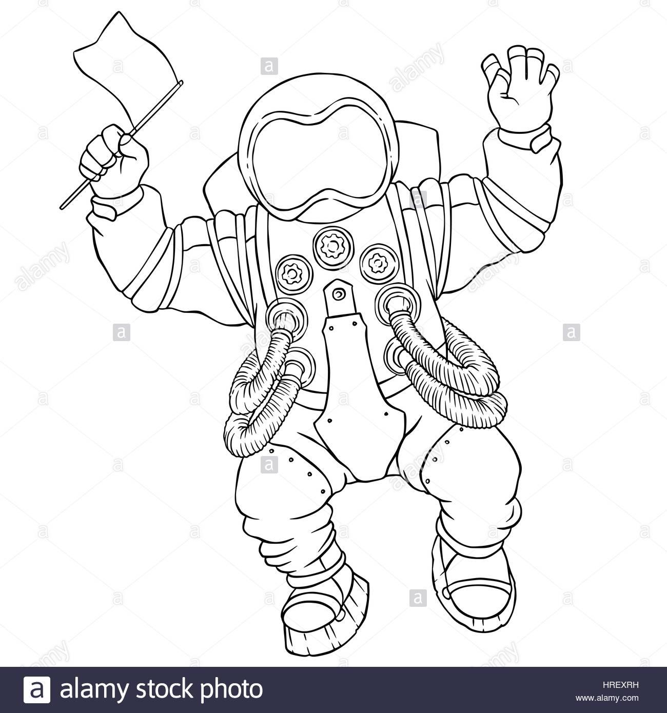 Ausgezeichnet Astronaut Malvorlagen Ideen - Druckbare Malvorlagen ...