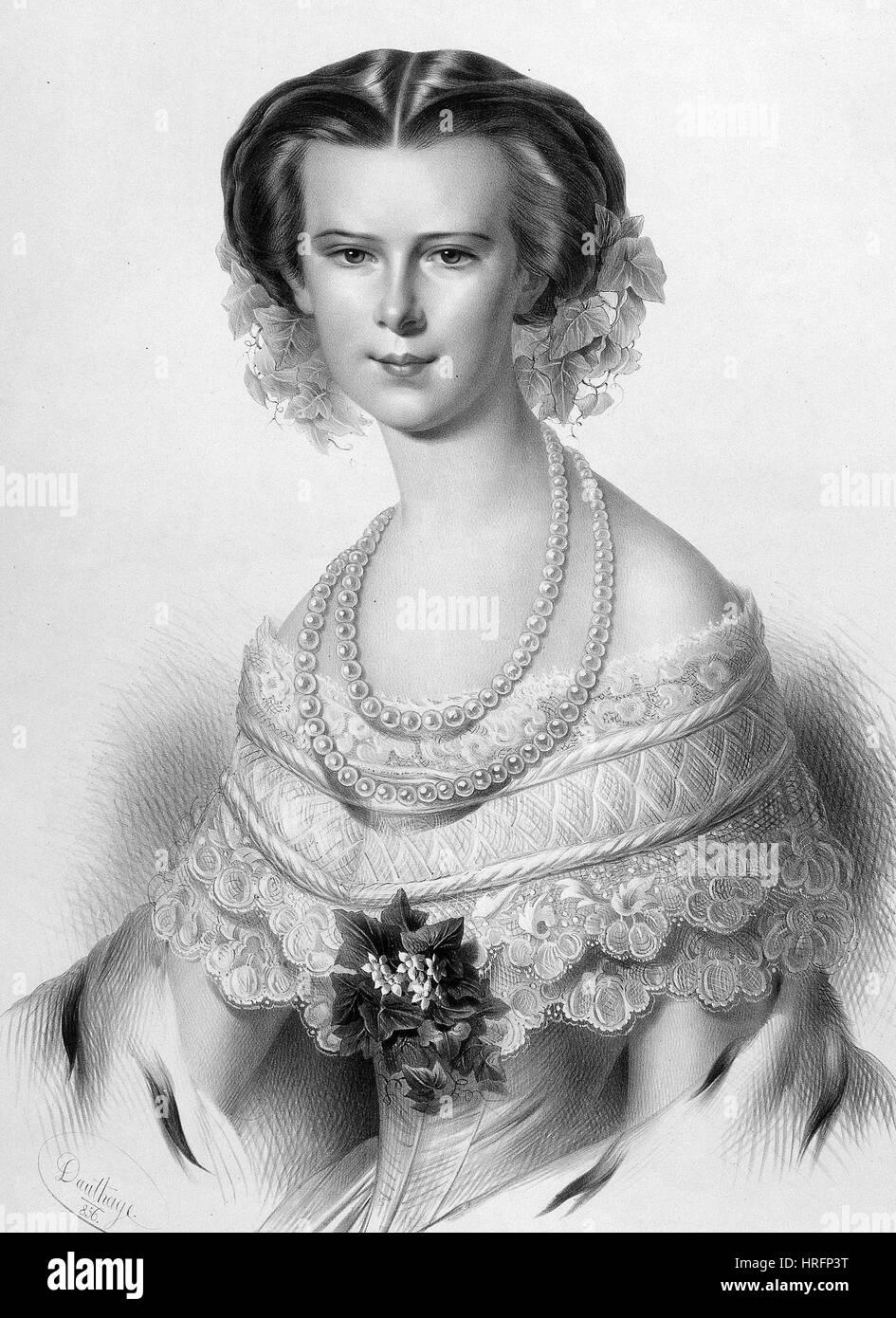 Kaiserin Elisabeth Von österreich 1837 1898 Ehefrau Von Kaiser