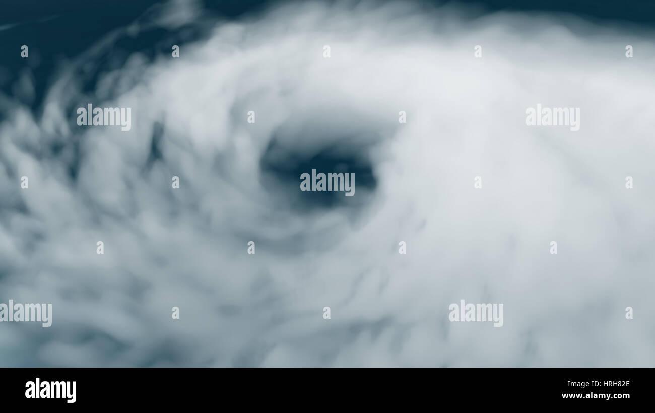 Hurrikan Bonnie Stockbild